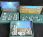 Waterford Crystal Nativity Animals Shepherds Wise Men Set Marquis Choice Germany