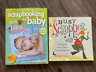 2 Scrapbooking Books Busy Scrapper  Scrapbooking For Baby