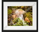 Photography Wall Art Print Falls at Flume Gorge Archival Quality Luster Paper