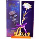 Hot Galaxy Artifical Foil Rose Forever Flowers with Love Galaxy Forever Rose