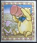 Vintage 80s Stickers Disney Classic Winnie the Pooh Adorable
