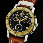 CAMEL TROPHY by MONDAINE SWISS MADE OUTDOOR CHRONOGRAPH DATE WR-100M HERREN UHR
