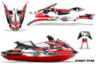 Jet Ski Graphics Kit Decal Wrap For Yamaha WaveRunner GP 1800 2017-2018 STSTAR R