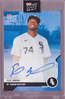 Eloy Jimenez Autograph 2020 Topps Now Road to Opening Day OD-76B Blue 49 Auto