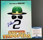 Jay Chandrasekhar Autographed Super Troopers 2 8x10 Photo Signed Beckett COA