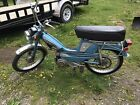 1978 Blue Motobecane Mobylette 50V moped Scooter 50cc 2 stroke engine