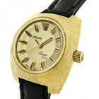 ENICAR SHERPA STAR LADY AUTOMATIK Kal.775 SAPPHIRE 20M-GOLD LUXUS SWISS MADE UHR