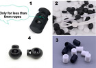 Lot Various Mask String Toggle Plastic Adjuster Stopper 4 Stings Cords Elastic