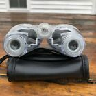 Protocol 7x18 Clear Case Compact Binoculars With Soft Carrying Case