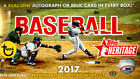 2017 Topps Heritage Baseball Hobby Box FACTORY SEALED Judge?