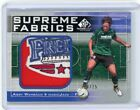 2011 SP GAME USED SUPREME FABRICS ABBY WAMBACH MLS SOCCER UPPER DECK JERSEY CARD