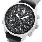 CITIZEN PROMASTER SKY FUNK ECO-DRIVE SOLAR GMT ALARM CHRONOGRAPH UHR AS4020-28E