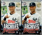 2017 Topps Archives Postseason Edition Sealed Hobby Box Pack Of 1 Autograph