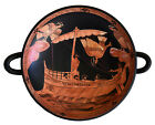 Odysseus passing the Sirens Red Figure small Kylix Vase Siren Painter