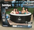 SaluSpa Miami Hot Tub 4 person Black IN HAND FAST SHIPPING
