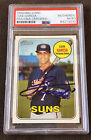 Luis Garcia 2018 Topps Heritage Minors Signed Autographed Nationals Card PSA COA