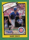1990 Starting Lineup card - Mark Grace - Chicago Cubs