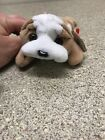 TY Beanie Baby Wrinkles The Dog W/Style # Tag Retired   DOB: May 1st, 1996 PVC
