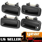 Pair For GEO Prizm 1989 1992 Exterior Outside Front Rear Door Handle Set of 4