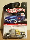 Hot Wheels Slick Rides Convoy Custom w Real Rider Tires