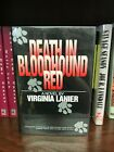 Death in Bloodhound Red by Virginia Lanier Signed First Edition