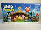 Little People Nativity Set Deluxe Christmas Story Fisher Price
