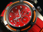 Invicta 52mm Bolt Zeus NFL TAMPA BAY BUCCANEERS Swiss Chrono Silicon Strap Watch