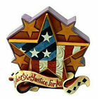 Jim Shore*MINI PATRIOTIC STAR*New*JULY 4th*PLEDGE of ALLEGIANCE*Flag*USA*6001088