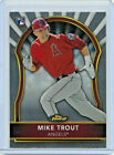 2011 11 TOPPS FINEST BASEBALL MIKE TROUT ROOKIE CARD #94