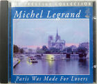MICHEL LEGRAND: PARIS WAS MADE FOR LOVERS  NEAR MINT ORIGINAL CD FROM 1994