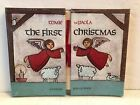 1984 Tomie dePaola THE FIRST CHRISTMAS A Festive Pop Up Book Nativity SEALED