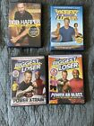 Biggest Loser Workout DVD Lot Of 4 Pre Owned