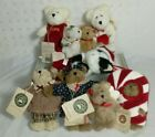 Boyds Bear Ornaments Lot Of 8 With Hang Tags christmas