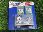 1989 KENNER STARTING LINE-UP DOUBLE CLASSICS ALAN TRAMMELL AND JOSE CANSECO