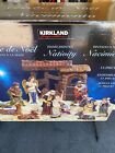 Kirkland Signature Hand Painted Nativity Set 13 Piece 1456711 Costco Christmas
