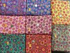 BEAUTIFUL QUILTING COTTON 45 WIDE VARIETY YOU CHOOSE FLOWER POWER BTY