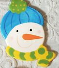 COTON COLORS HAPPY EVERYTHING MINI ATTACHMENT SNOWMAN FROSTY RETIRED 2011