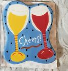 COTON COLORS HAPPY EVERYTHING MINI ATTACHMENT WINE CHEERS RETIRED 2014