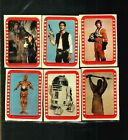 1977 Topps Star Wars Sticker Card Set OF 11 Series4 Green Excellent TO FEW NM
