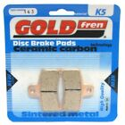 Front/Rear Disc Brake Pads for Gas Gas EC50 Boy (L/C) 2004 50cc  By GOLDfren