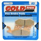 Front/Rear Disc Brake Pads for Triumph Tiger 900 1997 885cc (Left) (T400/G427)