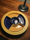 Vintage Homer Laughlin Classic Fiesta Relish Tray Inserts Cobalt
