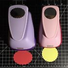 Marvy Uchida Craft Paper Punch Scallop Circle Scallop Oval Jumbo Clever Lever