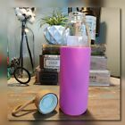 17 Oz Glass Water Bottle with Bamboo Lid Silicone Sleeve LOT OF 6