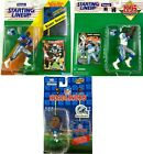 Lot of 3 Barry Sanders Action Figures Starting Lineup 1992 1995 Headliners Lions