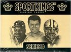 2010 Sportkings Series D Sealed Hobby Box Of 5 Cards 1 Auto Or Memorabilia Per