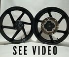 HONDA RC51 RVT1000R SP1 SP2 Front Rear Wheel Rims Set RVT 1000R RC 51 2000 2001