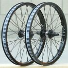 CULT BMX CREW v2 FRONT or CASSETTE BICYCLE WHEEL BLACK RHD LHD