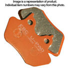 EBC Semi Sintered V Rear Brake Pad Husqvarna TR650 Strada (Cast Wheels) 2013