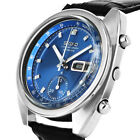 SEIKO SPACE AGE BLUE AUTOMATIK CHRONOGRAPH 6139-7080 DAY&DATE COUNTER HERREN UHR
